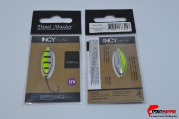 Trout Master Incy Inline Spoon 1,5g Saibling 501