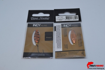 Trout Master Incy Inline Spoon 3,0g Maggot 605
