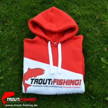 Trout-Fishing.de Tremarella- Style COLLECTION Hoodie L