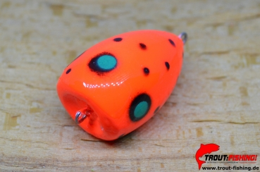 Balzer Trout Attack Trout Poppper Wobbler SPLASH/ Orange