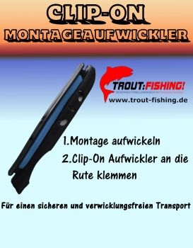 CLIP-ON Montage- Aufwickler Gr.2
