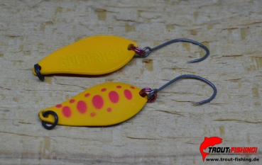 JAPAN Field Hunter Gold Rush Area ultralight Trout Spoon 2,0g/ 15 Normal